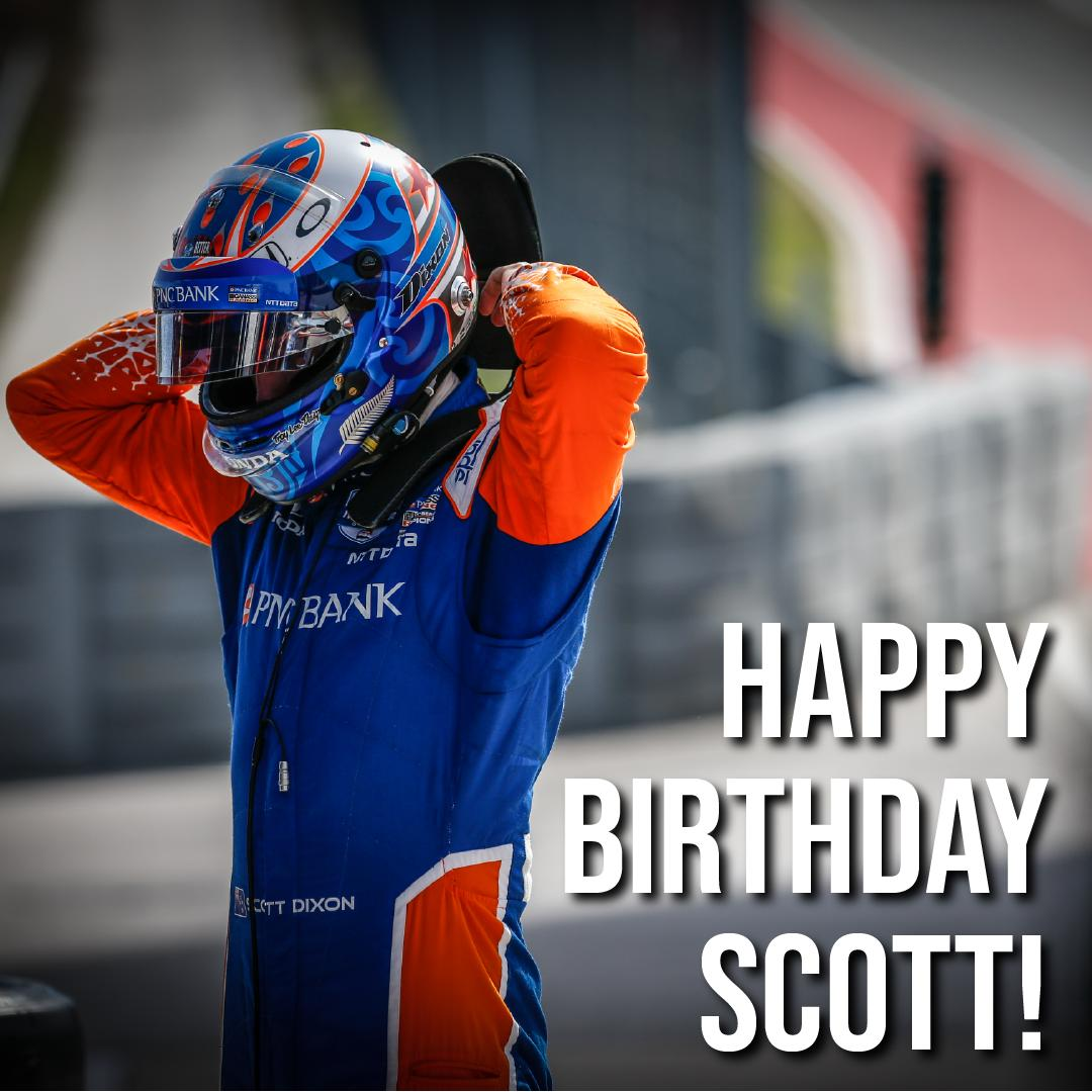 Happy Birthday @scottdixon9! 🎉🎈 From your friends at #indyTO