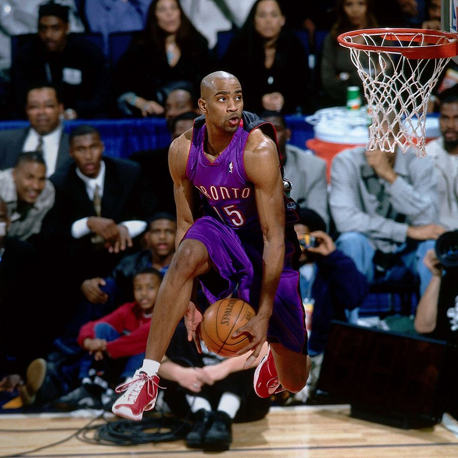 VINSANITY to begin #NBADunkWeek!What's your favorite @mrvincecarter15 dunk memory?