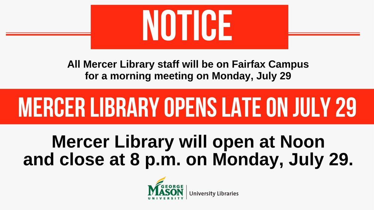Mercer Library (@MercerSciTech) | Twitter