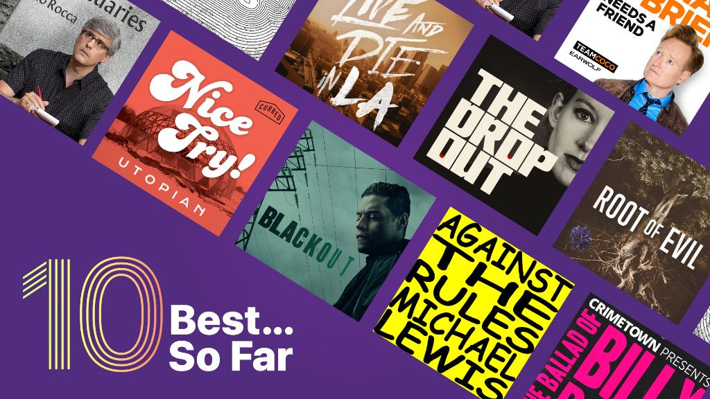 We've picked our 10 best shows of the year - so far. Dive in and find a new favorite. apple.co/BestPodsSoFar