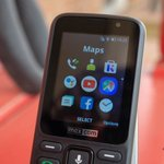 Image for the Tweet beginning: WhatsApp arrives on feature phones