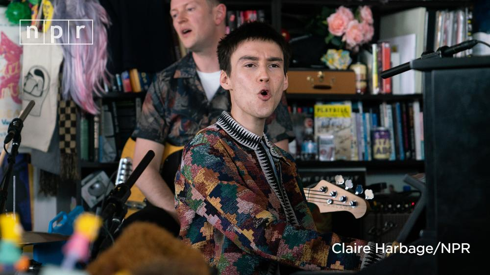 By our count, Jacob Collier (@jacobcollier) played seven different instruments at the #TinyDesk, including his expressive style of singing. Watch his imaginative performance. https://n.pr/32TyERY