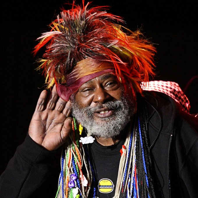 Happy Birthday George Clinton, Parlament-Funkadelic soul brother number one, born 7/22/1941.