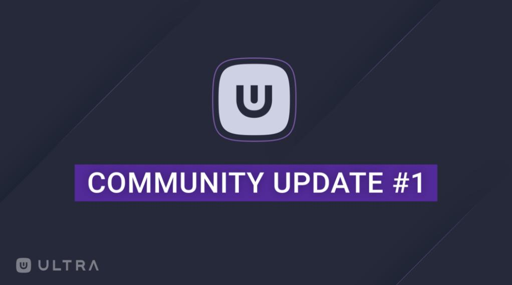 The first update for the #Ultra community is out, learn more about what we are doing, and what's coming!   https://medium.com/ultra-io/community-update1-a37c996f00f3…  #EOSIO #EOS #Blockchain #PCGames #Gamedev