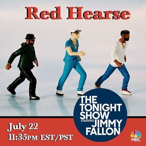Replying to @redhearsemusic: We are live on @jimmyfallon tonight at 11:35 EST!