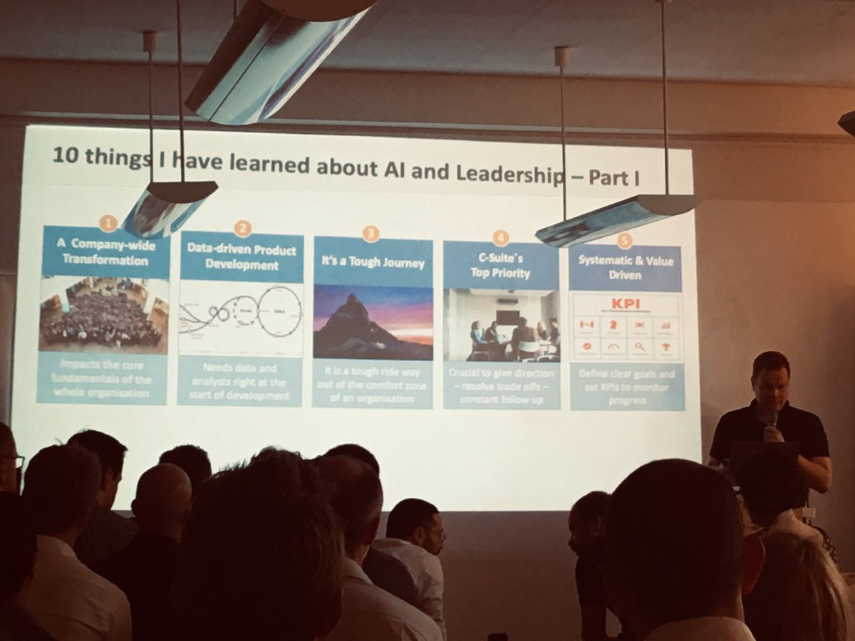 10 Core Learnings of Dirk Hofmann from @DainStudios at #AIMonday #0711 #AI Thanks for Sharing!