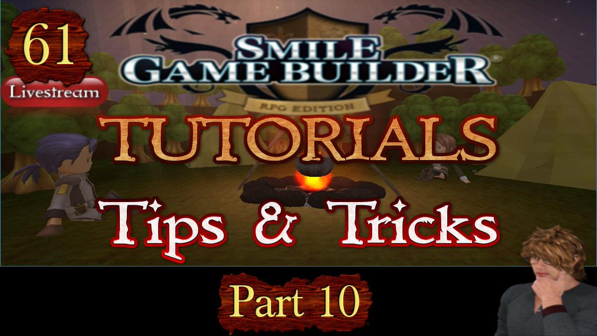 Decided to (finally) #livestream a #SMILEGAMEBUILDER #tutorial (officially #61) at 10pm GMT/2pm PST/5pm EST on #YouTube to get back into it. Come join me for some tips & tricks & chat or ask questions.  https://www.youtube.com/ferewulf/live  #LiveStreaming #StreamerNetwork