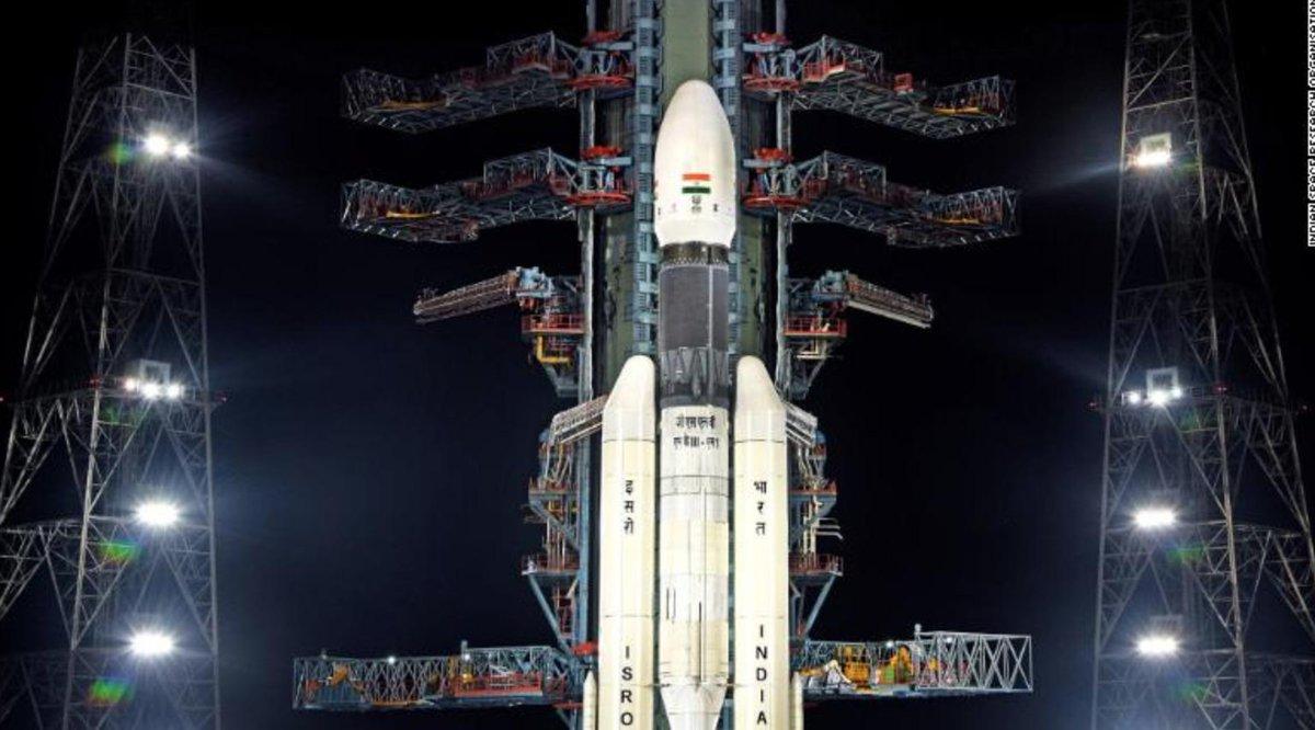 Launch alert! 🚀 Congratulations India on a successful launch of Chandrayaan-2! cnn.com/2019/07/22/asi…