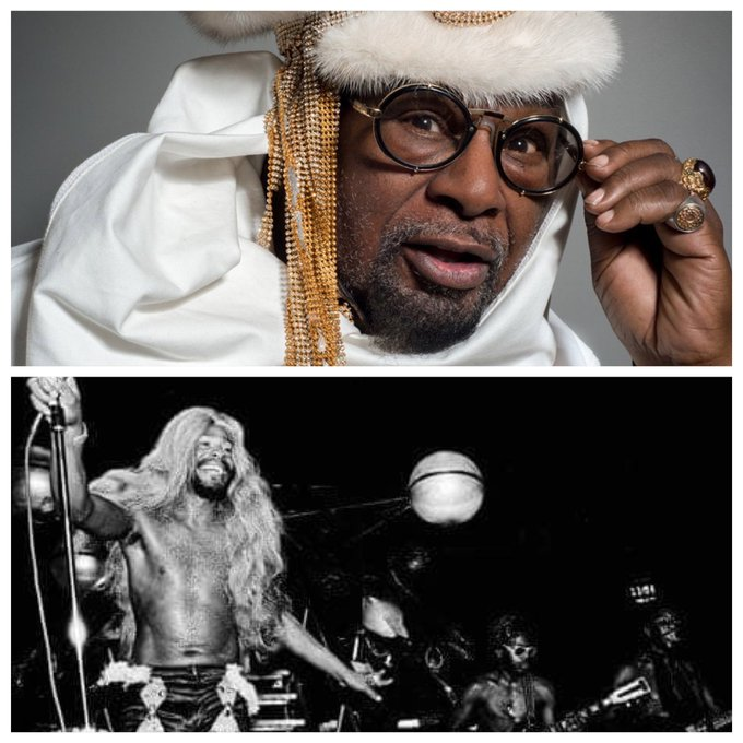 Happy birthday to the big dawg, George Clinton!   Woof!