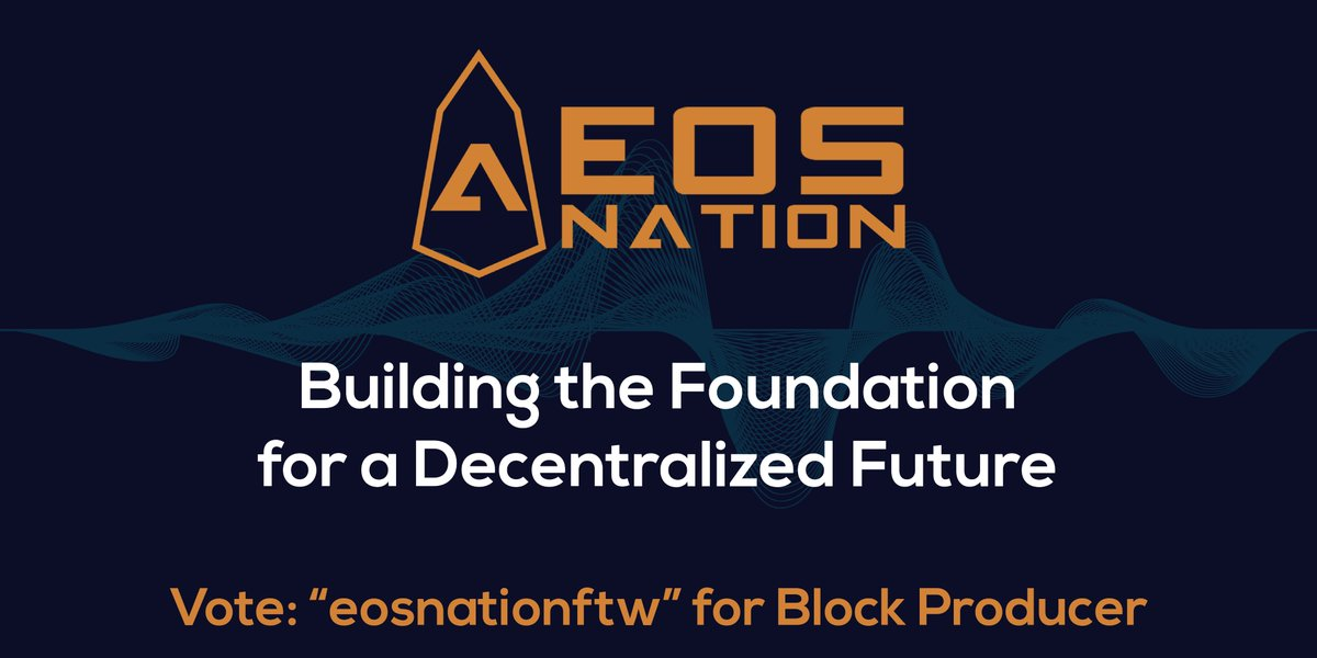 EOS Radio highly recommends you check out the EOS Nation Team and Block Producer! They are amazing!  Follow EOS Nation at https://eosnation.io/  Twitter: @EOS_Nation Telegram: https://t.me/EOSNation Medium: https://medium.com/@eosnationbp  #EOS #EOSIO #EOSNATION