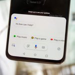 Image for the Tweet beginning: Google Assistant lets some users