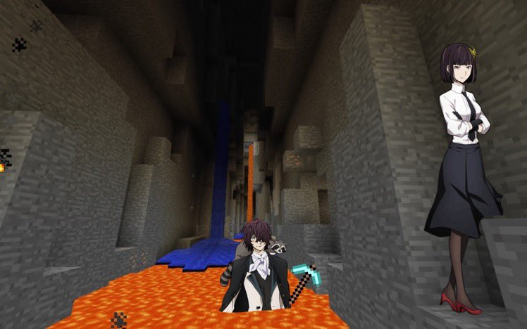 MINECRAFT FANFIC CAUSE I WANT TO FUCK U credit to @stanatsushisir