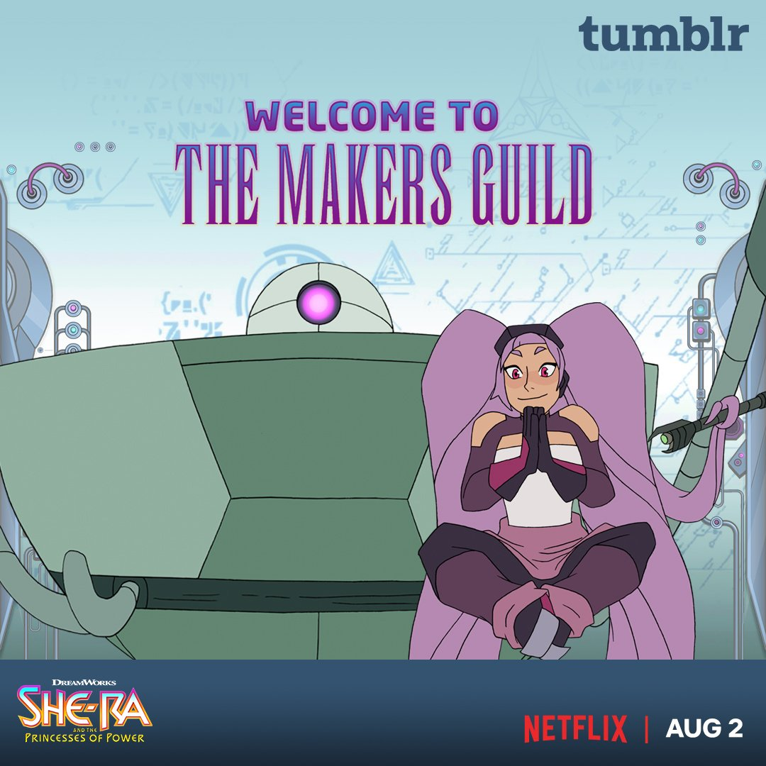 Have you submitted your #SheRa art to The Makers Guild? Get to it!  http:// dreamworksshera.tumblr.com    <br>http://pic.twitter.com/bg2nmBGWaS