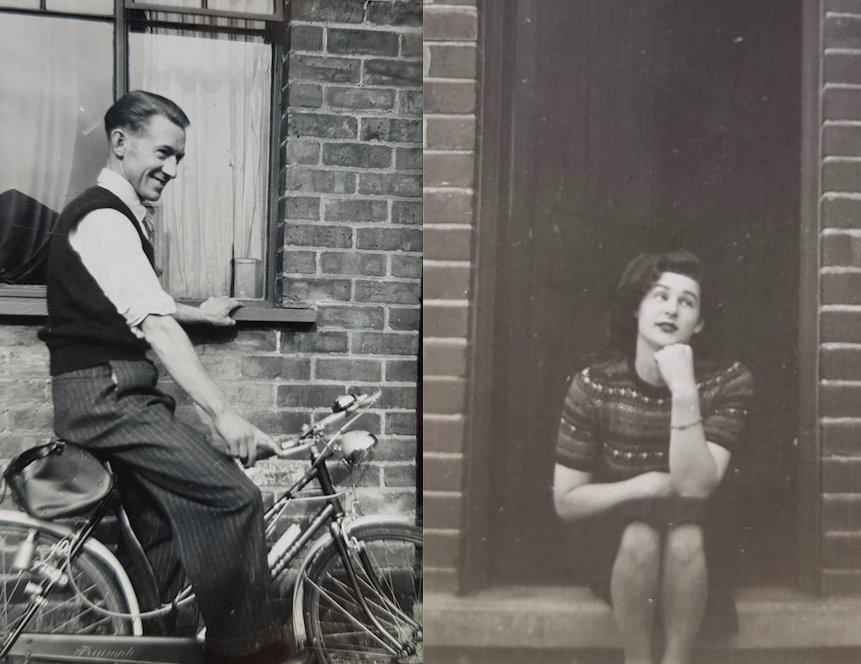 Just came across these photos of my grandparents, Ken & Rose, back in 1940s–50s Grimsby & couldn't resist sharing because just look at them  <br>http://pic.twitter.com/wm4zc65yLH