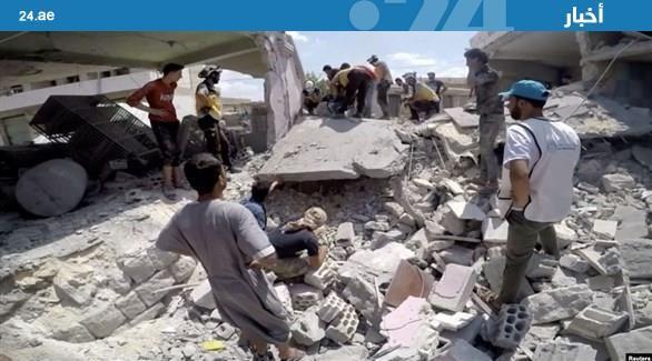 #موسكو تنفي شن الطيران الروسي غارة على سوق في #إدلب http://20four.com/517512