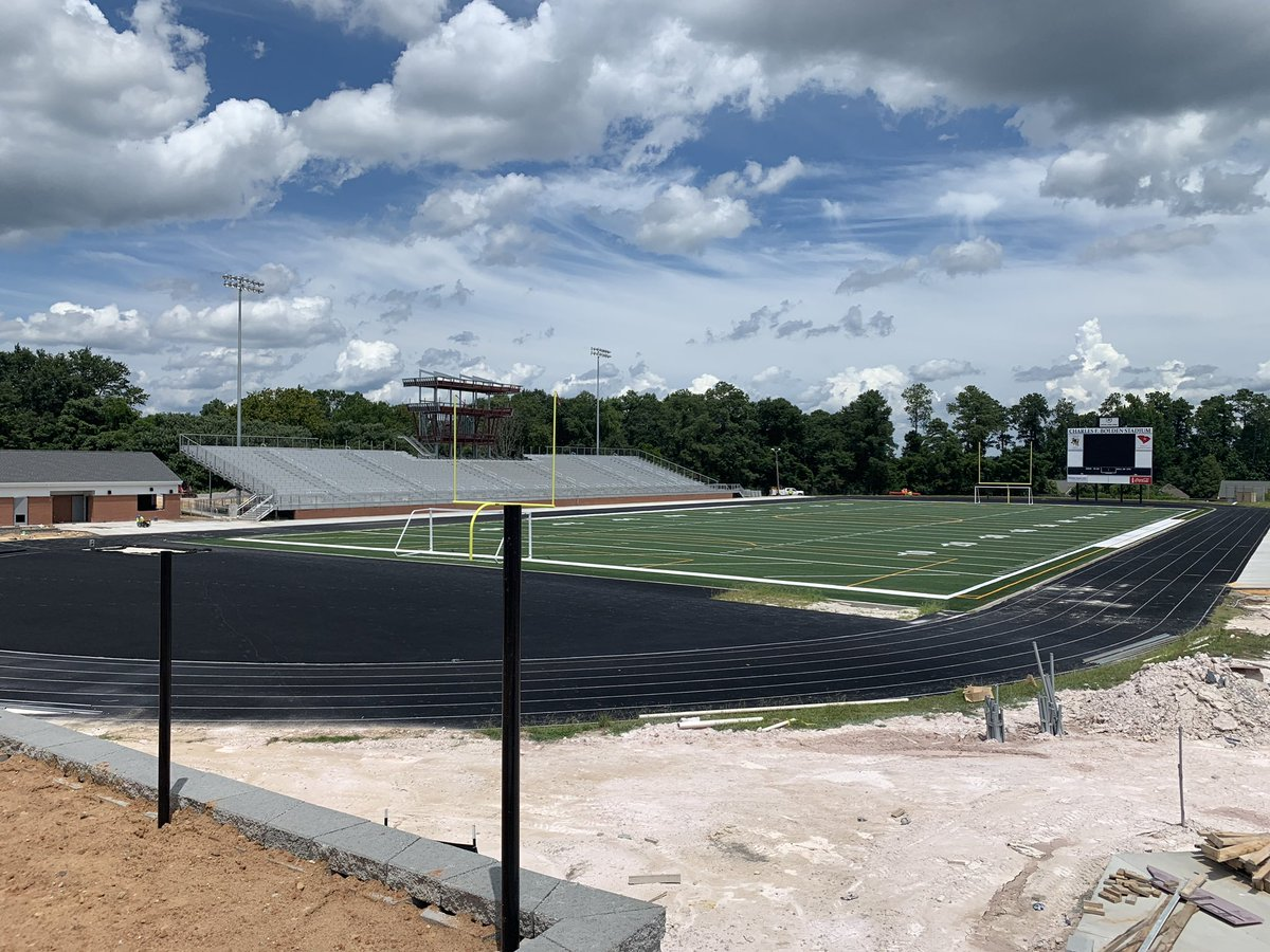 Bolden Stadium Construction Progress <br>http://pic.twitter.com/dfORocec8X