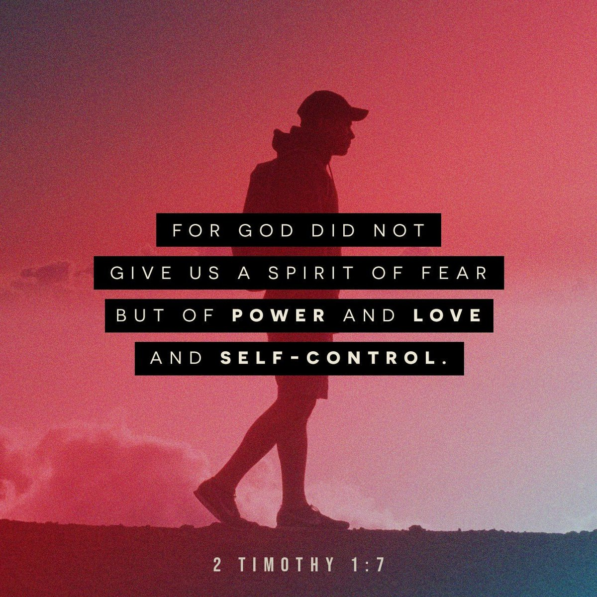 For God has not given us a spirit of fear, but of power and of love and of a sound mind. I…  https:// bible.com/verse-of-the-d ay/2ti.1.7/36069   … <br>http://pic.twitter.com/TSfYMWBBRs