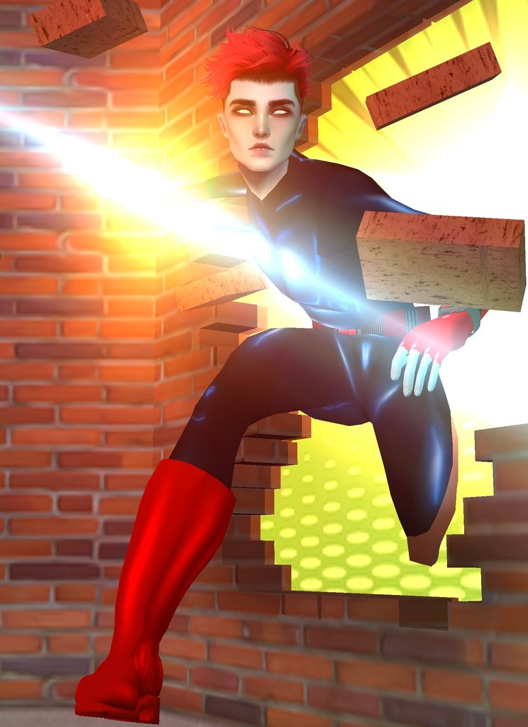 Congratulations to user Lync for being this week's winner of #IMVUWOC_Superhero! We loved this creative action shot, and this retro look! <br>http://pic.twitter.com/IxDYsS1ph4