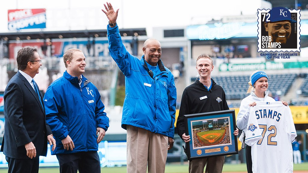 Nominate a member of the #Royals event staff for the Bob Stamps Gameday Associate of the Year Award! The award is presented to one event staff associate each season who best represents pride, teamwork, guest service and character.👉http://royals.com/bobstamps