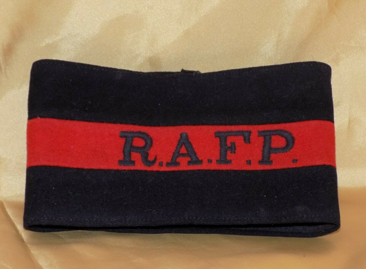 #Antiques #Militaria #Collectables #Jewellery #Auction - #Vintage WWII RAFP Royal Air Force RAF Police Original MOD Issued Armband c1940s https://www.ebay.co.uk/itm/123845747501…