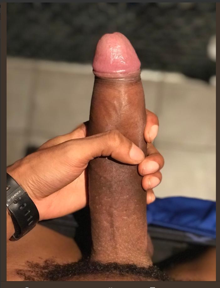 Black circumcised cock