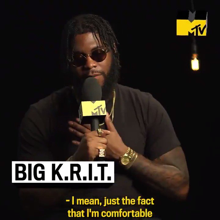 .@BigKRIT talked to @MTVNEWS about his new album #KRITZIZHERE, collaborating with @LilTunechi and @Saweetie, and making sure he's ALWAYS repping his country side. 🤠