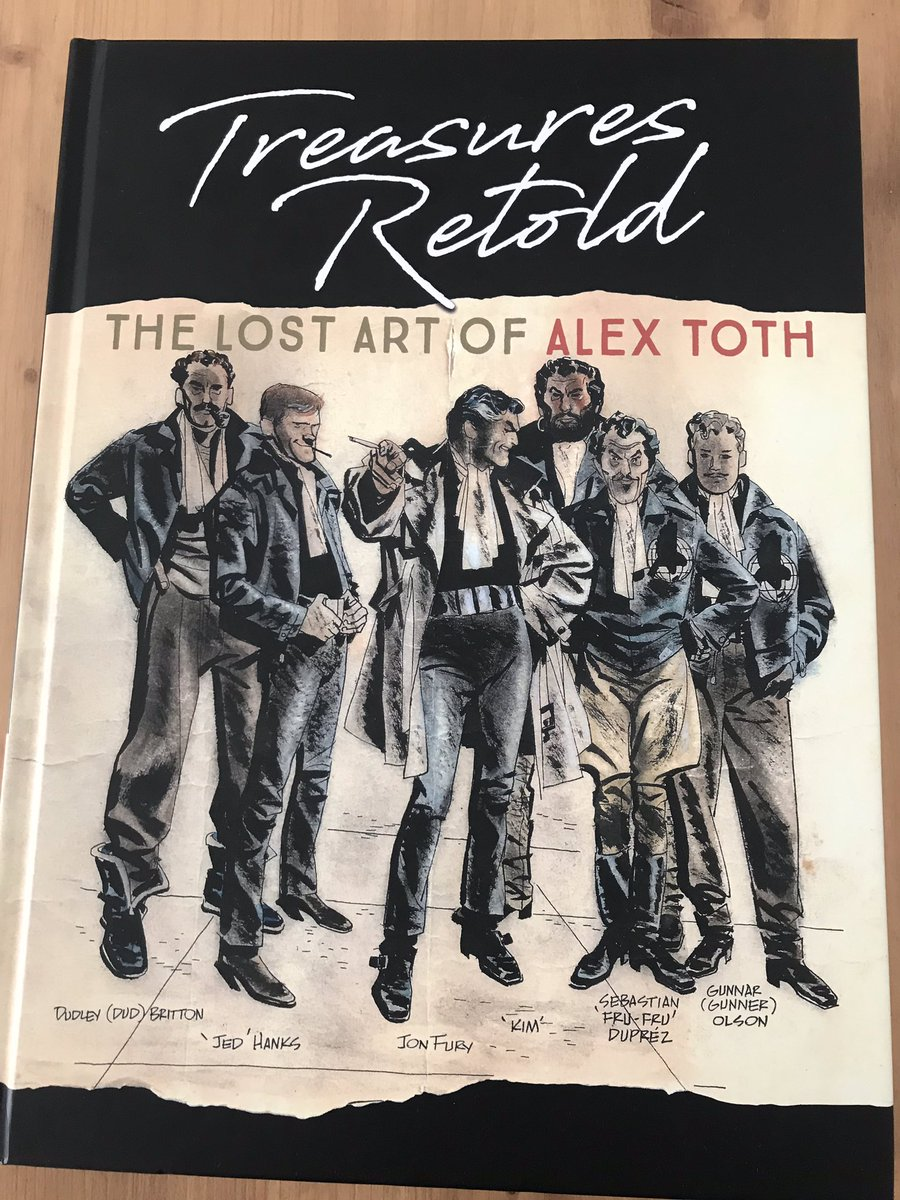 Just arrived the new Alex Toth book! Yeah! <br>http://pic.twitter.com/6rRGvYhlRu