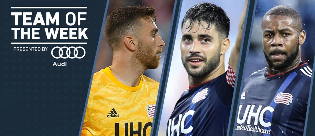 2 clean sheets, 2 goals and 2 assists = 3 @MLS Team of the Week #NERevs  players   http:// nerevs.us/8wEG30pbxZW     <br>http://pic.twitter.com/gOfKTsXWkx