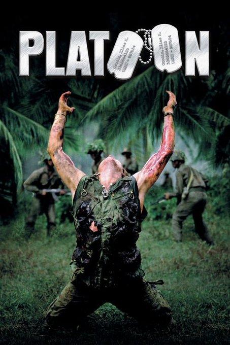 Platoon  (1986) Happy Birthday, Willem Dafoe!