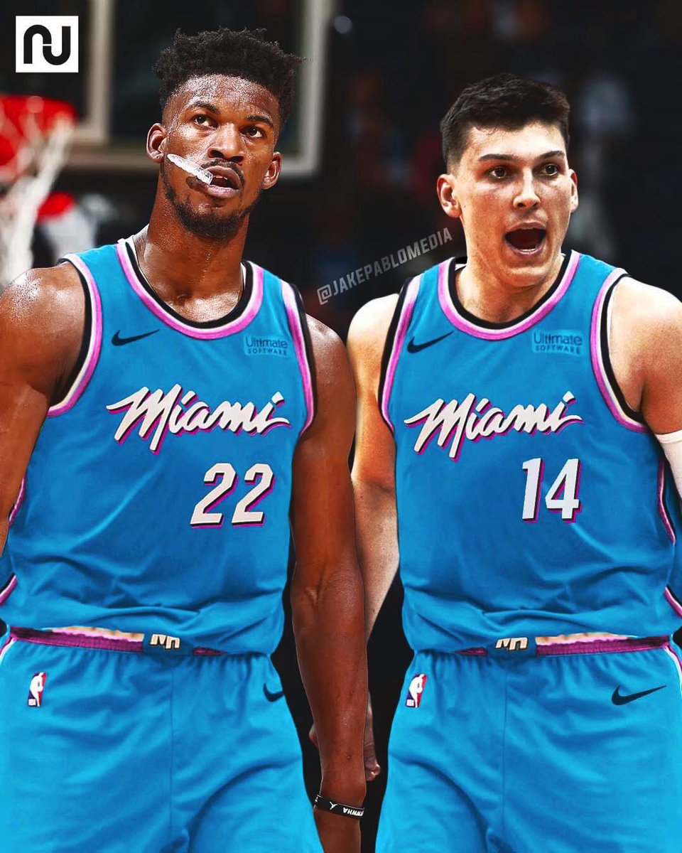 Jake Pablo On Twitter First Look At The Miamiheat Blue Vice Jersey They Are Supposedly Coming Out With This Year How Is It Looking
