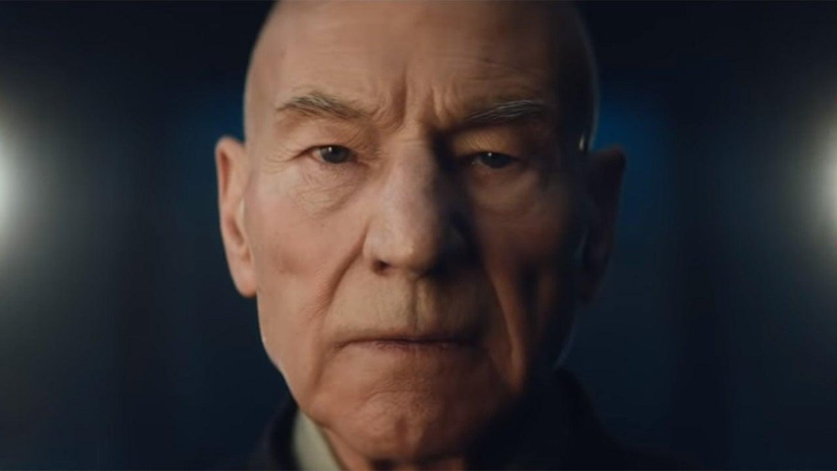 Sir Patrick Stewart revealed the name of the dog in the Star Trek: Picard trailer, and according to Stewart, he's a very, very good boy. 🐶💰 bit.ly/30IA3sC