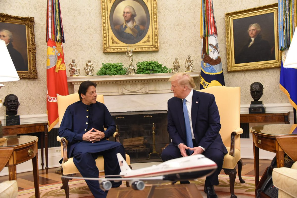Statemenship is an art to make world listen to you.   Khan at his best. Hope to see a mega turn around in international image of the Green passport. . #KhanMeetsTrump<br>http://pic.twitter.com/zH2vteheUJ
