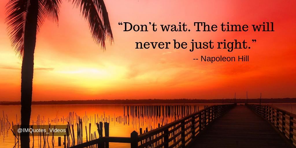 Don't procrastinate, take action toward your goals today!  #Quotes <br>http://pic.twitter.com/qbi7hqEodC