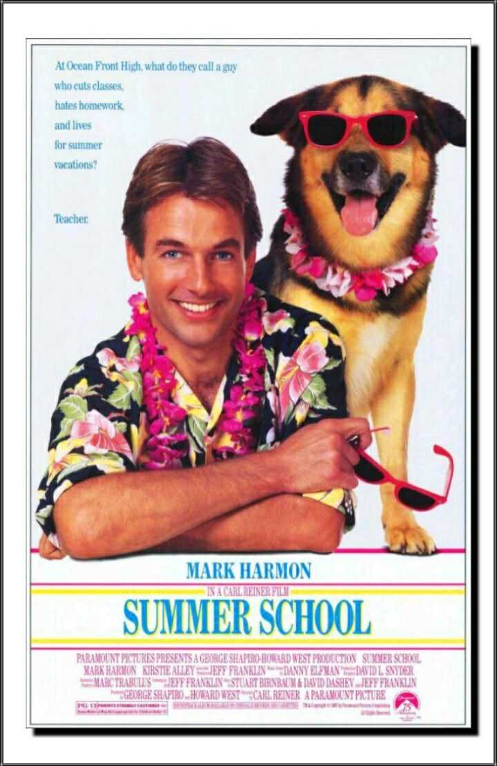 "The comedy ""Summer School"" featuring Mark Harmon Kirstie Alley and Courtney Thorne-Smith was released in theatres today in 1987. #80s #80smovies<br>http://pic.twitter.com/FR8Ki1OrTG"