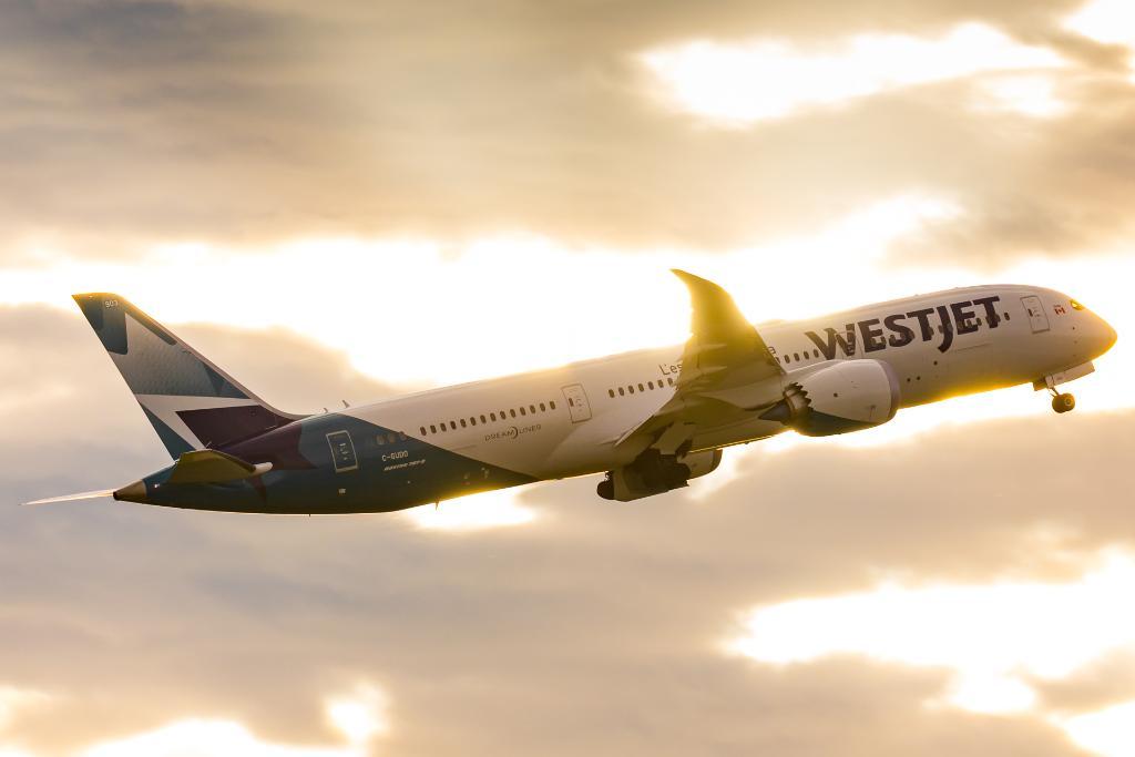 Golden hour.  Photo via Alex Praglowski  #WestJet787<br>http://pic.twitter.com/R6j9F7rkte