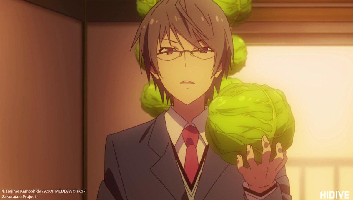 Hidive On Twitter Lettuce Watch Anime Via The Pet Girl Of Sakurasou Https T Co Rkfkjjc0ot