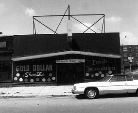 The Gold Dollar first opened in the 1930s. From 1956 to the late 1980s, it was a popular drag show attraction. In 1996, the bar began attracting live music under new ownership.