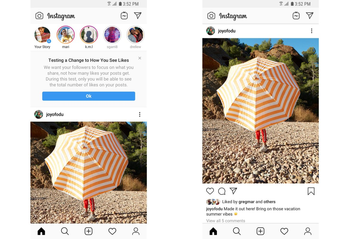 Instagram quantified our popularity, and now it wants to fix it https://www.theverge.com/2019/7/22/20699316/instagram-like-hiding-update-feedback-data-countries?utm_campaign=theverge&utm_content=chorus&utm_medium=social&utm_source=twitter…