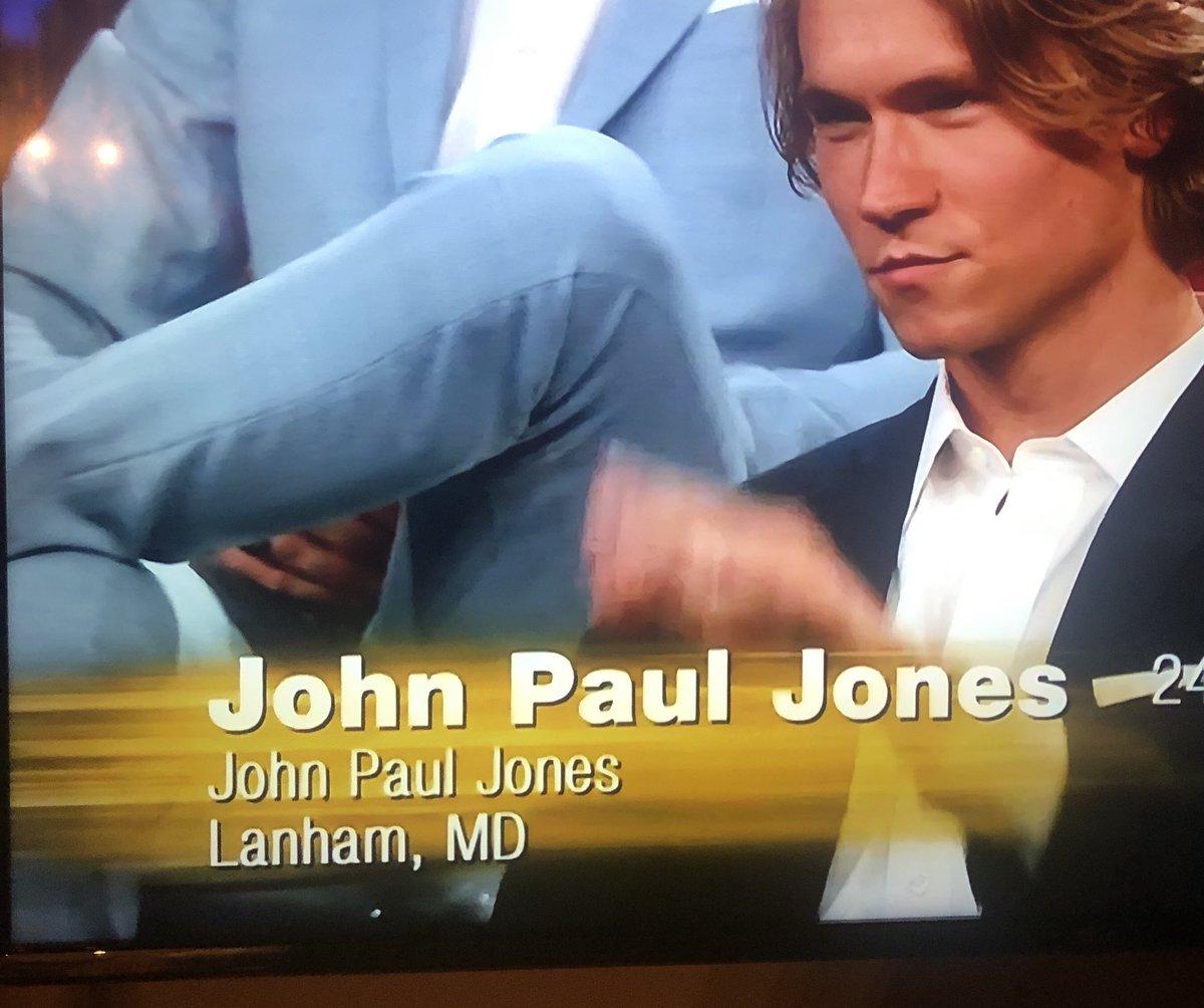 @passthesugarman's photo on John Paul Jones