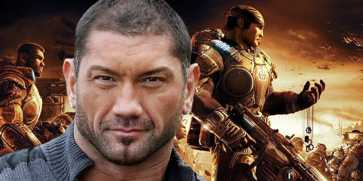 "Dave Bautista Says He's ""Tried Everything"" To Get Cast In Gears Of War Movie"