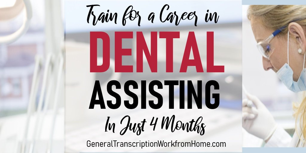 How to Get a Career as a Dental Assistant in Just 4 Months https://bit.ly/2TpiOcC #dental #dentalassistant #training #medical #careers #affiliate
