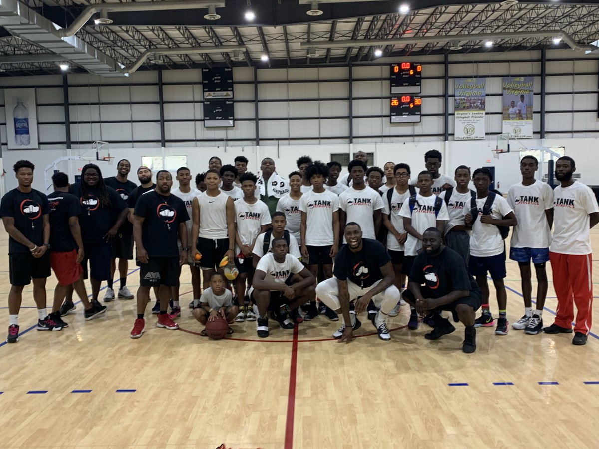 Camp was a success!!  Thank you to everyone who came out!  #TankAthletics #SummerofSavages<br>http://pic.twitter.com/yST7xhLMB4 – à Virginia Beach Fieldhouse
