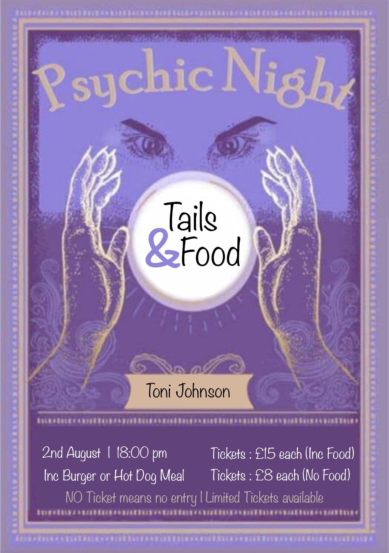 Psychic Night - Tails & Food