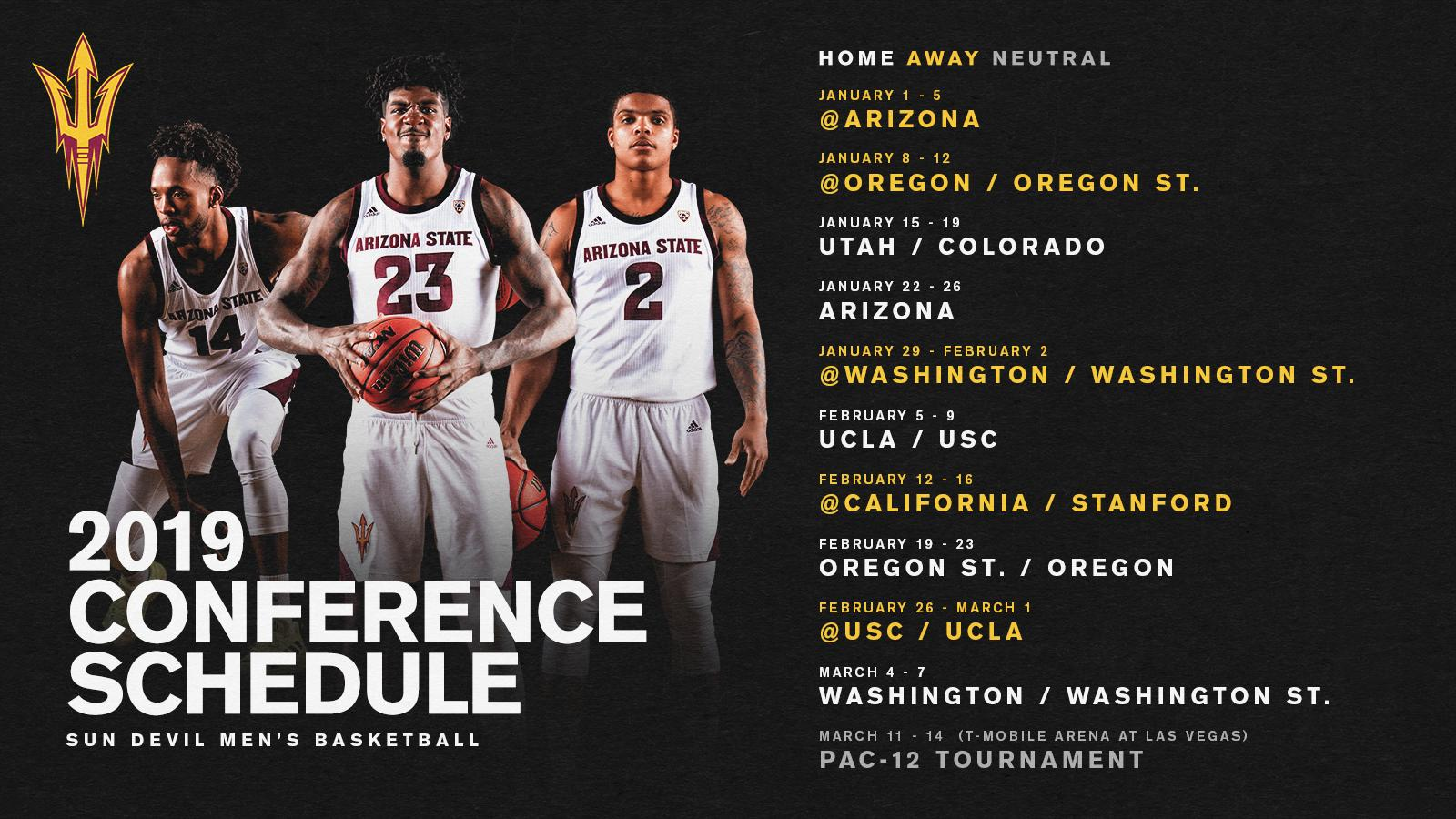 Arizona State Sun Devils NCAA Basketball: Pac-12 Pairings are out 😈🔱  📰 Release: https://t.co/P.  Tweet by @SunDevilHoops