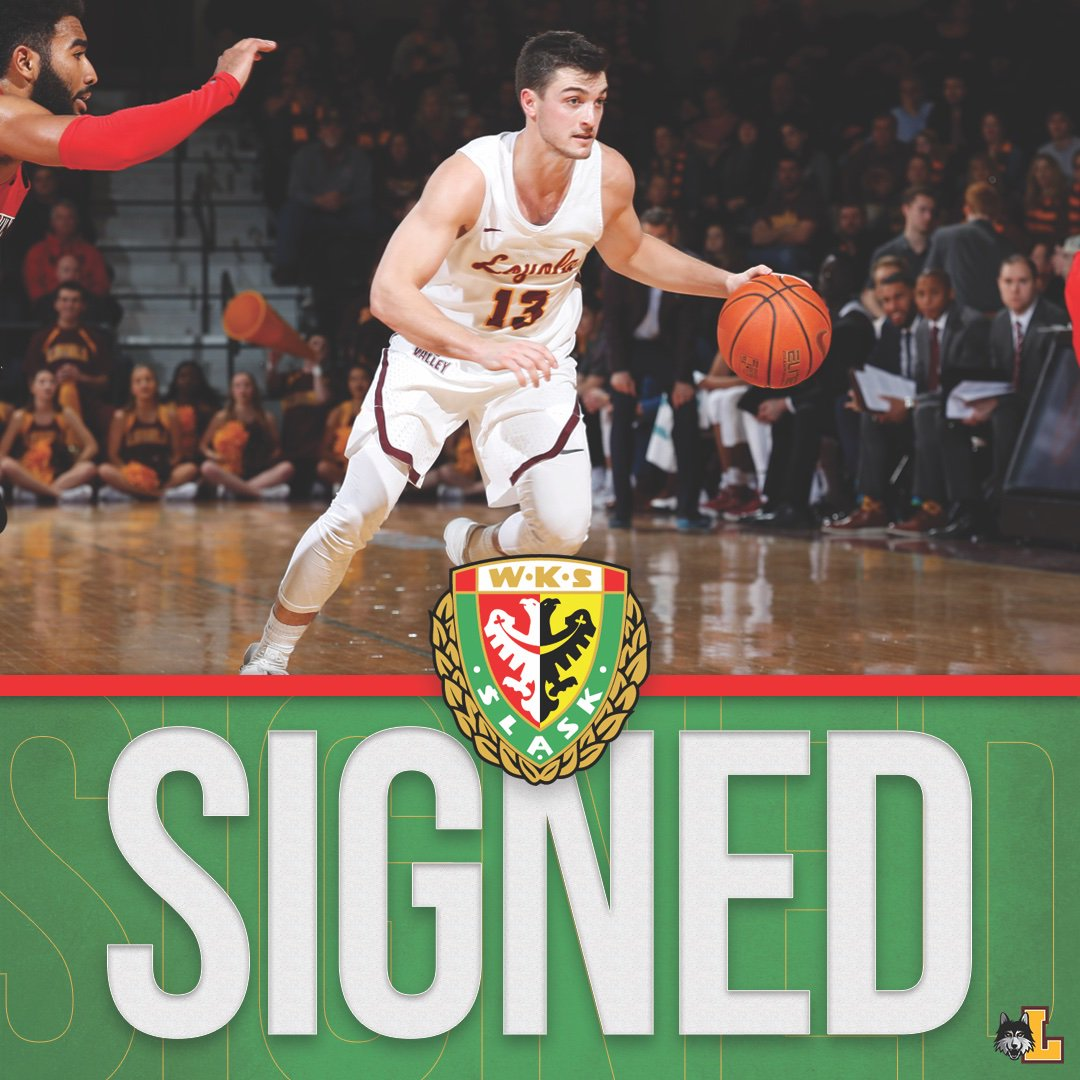Congratulations to @ClaytonCuster3 on signing his first professional contract to play for @WKS_SlaskBasket in Poland! https://t.co/QHv9bUvkGa #OnwardLU #MVCHoops https://t.co/XzXKwXuYNa