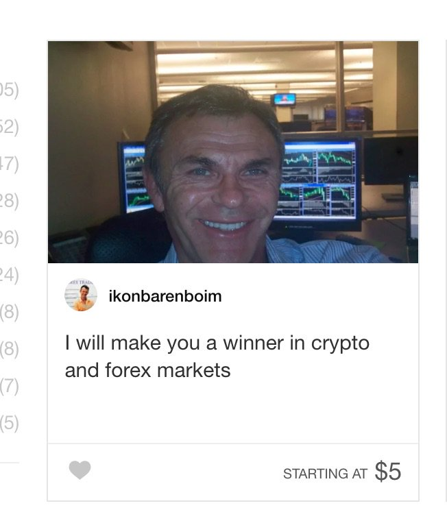 fiverr has some great listings under crypto <br>http://pic.twitter.com/KiUukJGDaz