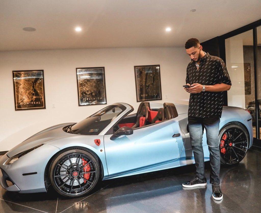 Simmons Birthday Ferrari 👀