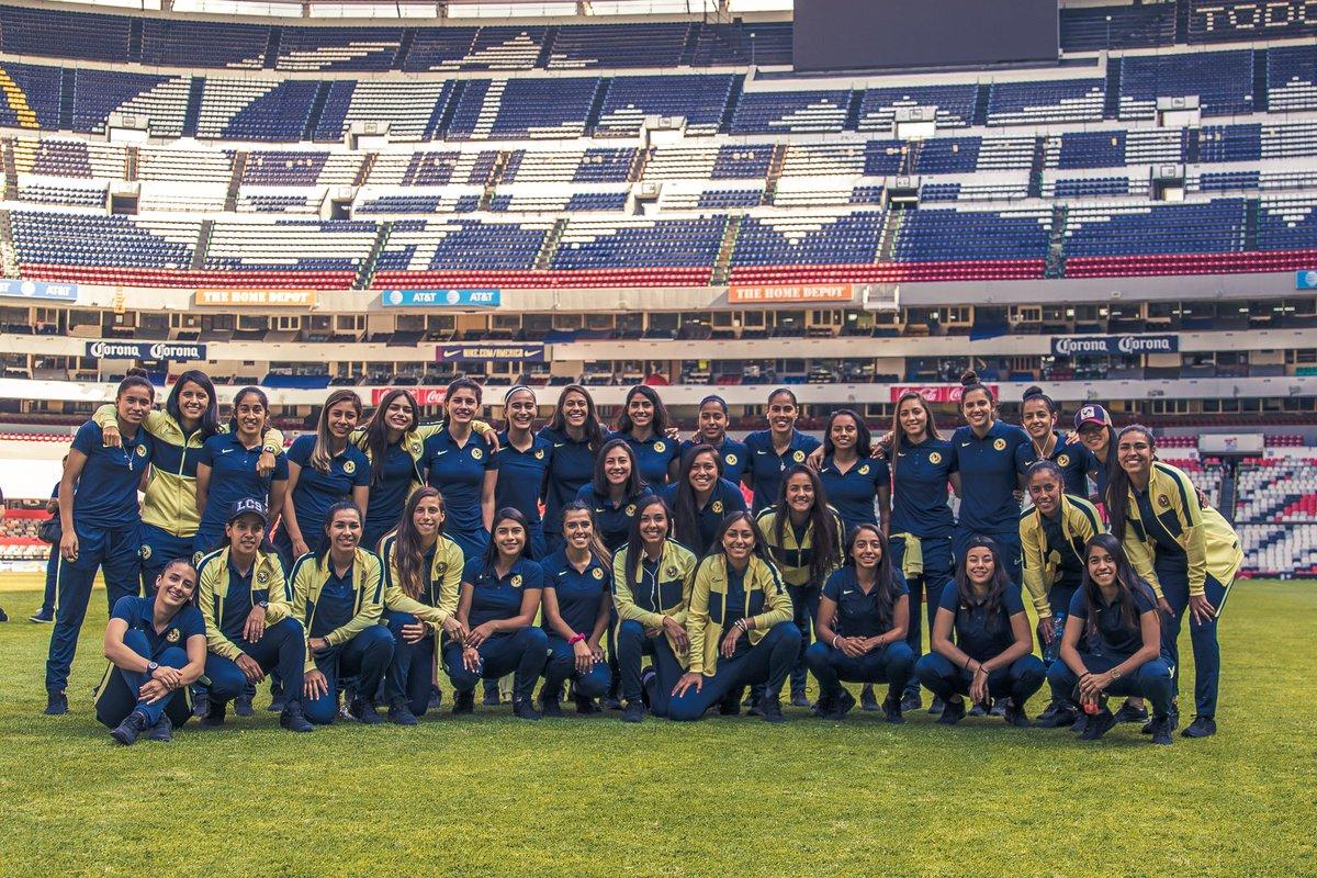 ¡Ya estamos en casa para el debut del #AP2019! 🏟🦅  📍 @EstadioAzteca