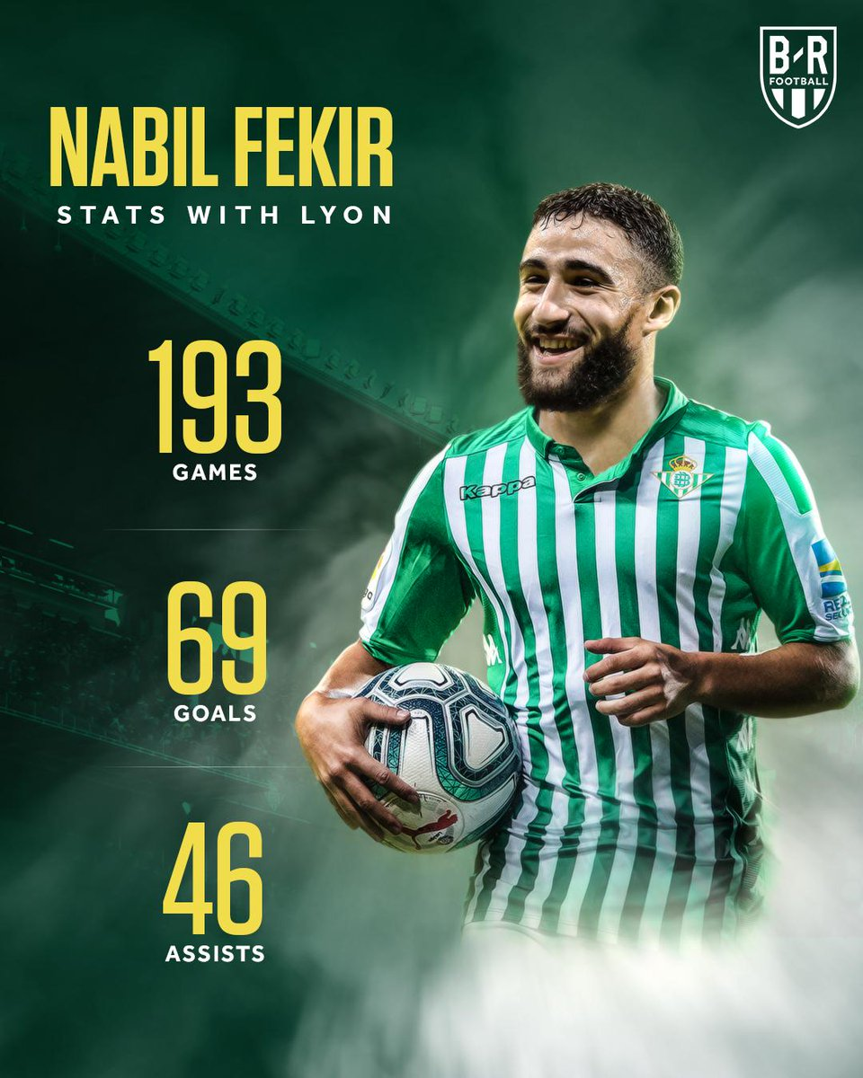 OFFICIAL: Real Betis announce the signing of Nabil Fekir from Lyon ✨