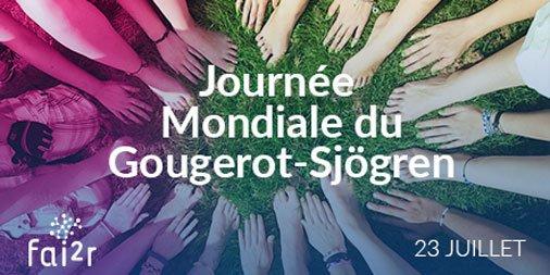 23 juillet : Aujourd'hui, c'est la Journée Mondiale du Gougerot-Sjögren ! ✨ La plus fréquente des maladies auto-immunes systémiques 👉 https://www.fai2r.org/les-pathologies-rares/gougerot-sjogren/generalites… #gougerot #sjögren  #SGS  #maladiesrares #autoimmune #syndromesec